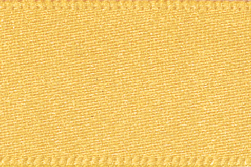 Ribbon Double Satin - 15mm Gold