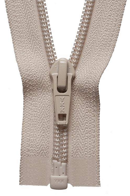 Zip - Open Ended 41cm (Beige)