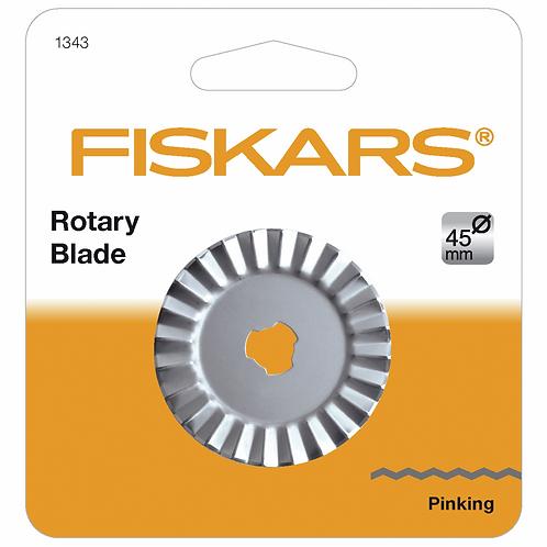 Rotary Blade: 45mm: Pinking Cutter (Fiskars)