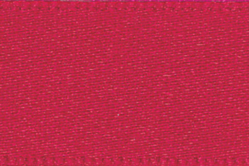 Ribbon Double Satin - 10mm Red