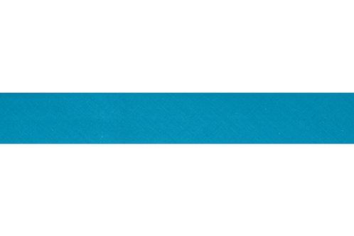 Bias Binding - 25mm Aqua