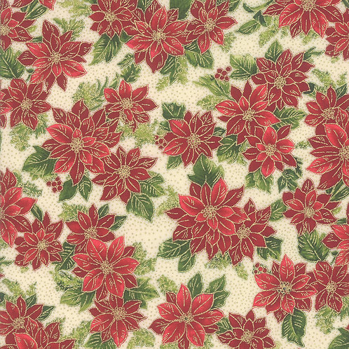 Poinsettias & Pine - 33513 11