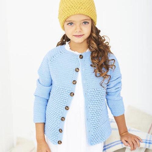 Bambino DK Pattern - Crochet Cardigan and Hat