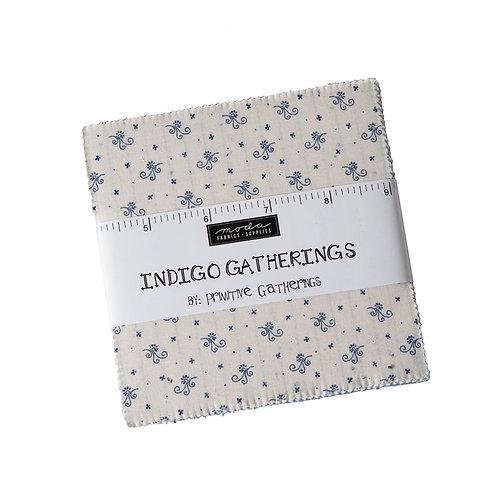 Charm Packs - Indigo Gatherings