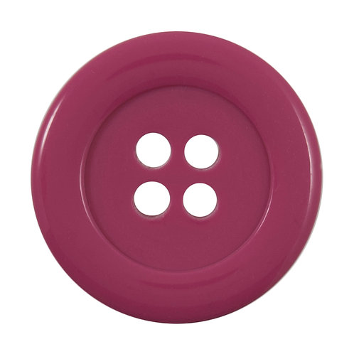 Vogue Pink Buttons: Size 34mm: Pack 1