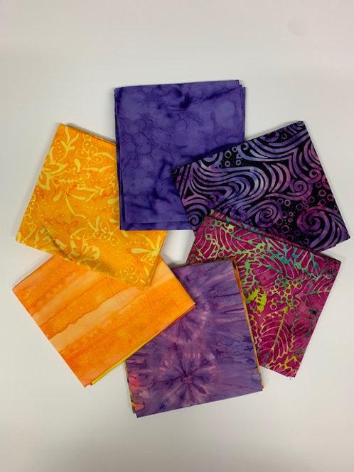 Batiks - Fat 1/4 Bundle