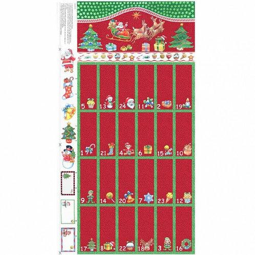 Red & Green Advent Calendar - 89920