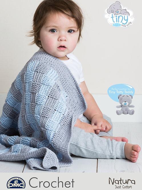 DMC Crochet Pattern: Baby Blanket