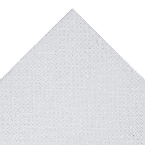 Aida Needlecraft Fabric: 30 x 45cm: 14 Count: White