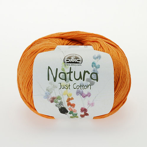 DMC Natura: 'Just Cotton' Crochet Yarn: Safran