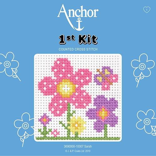 Cross Stitch - Anchor 1st Kit - Sarah