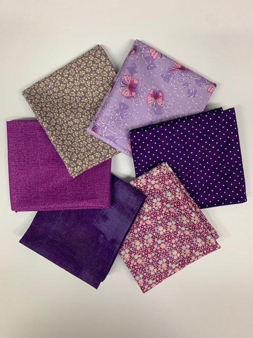 Purples - Fat 1/4 Bundle