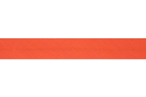 Bias Binding - 25mm Orange