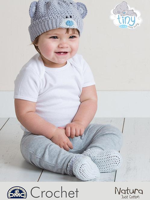 DMC Crochet Pattern: Baby Hat & Bootees