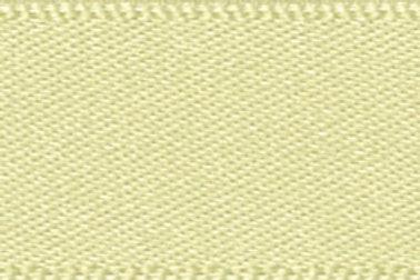 Ribbon Double Satin - 25mm  Pale Lemon
