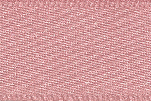 Ribbon Double Satin - 25mm Dusky Pink