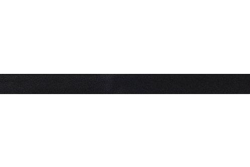 Bias Binding - 15mm Black Satin