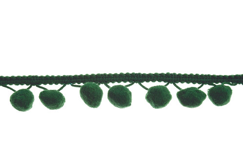 Pom Pom Trim: Green