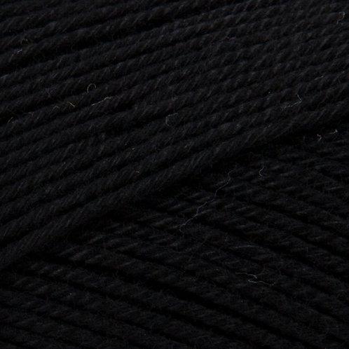 Patons Black 100% 4ply Cotton