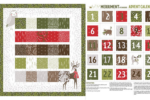 Merriment Advent Panel - 48272 11