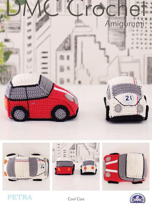 DMC Crochet Pattern: Cool Cars