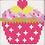 Thumbnail: Cross Stitch Kit: 1st Kit: Cupcake