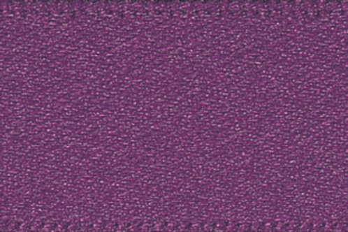 Ribbon Double Satin - 15mm Plum