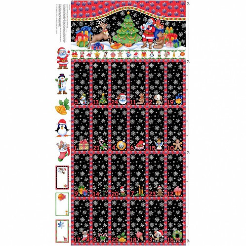 Black Advent Calendar - 80130 101