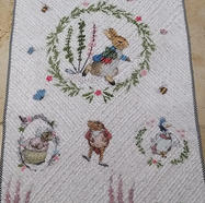 Chenille Quilt by Jane