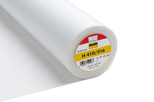 Interlining: Ultra Soft: Heavy: White: Iron-on (H410-316)