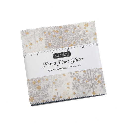 Charm Packs - Forest Frost Glitter