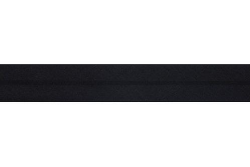Bias Binding - 12mm Black
