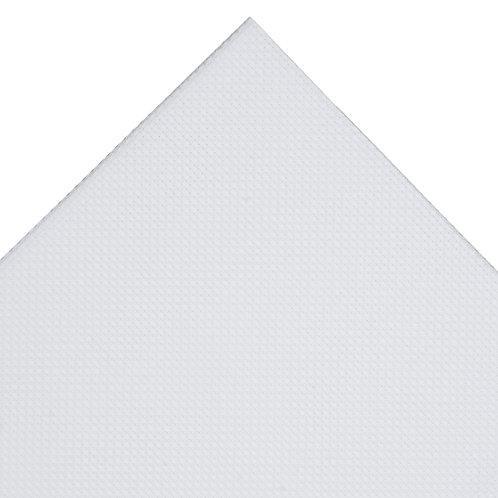 Aida Needlecraft Fabric: 30 x 45cm: 16 Count: White