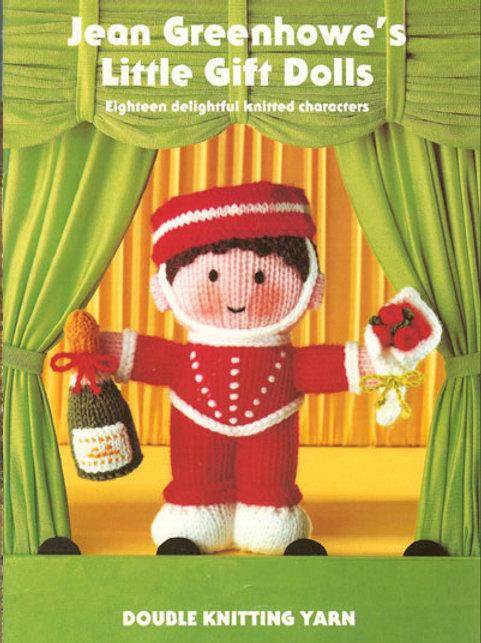 Patons Pattern Book JG Little Gift Dolls