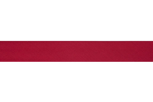 Bias Binding - 25mm Scarlet