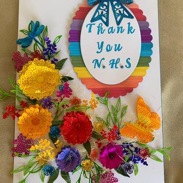 Thank You Card by Gaynor