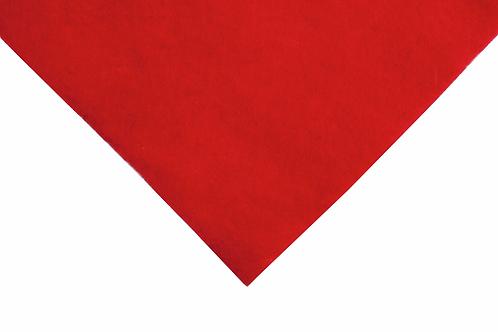 Felt Wool: Squares: 30 x 30cm: Oriental Red