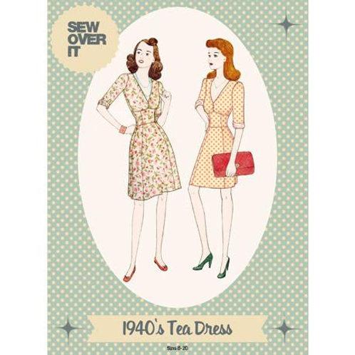 1940's Tea Dress Pattern