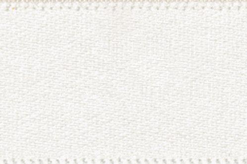 Ribbon Double Satin - 7mm Bridal White