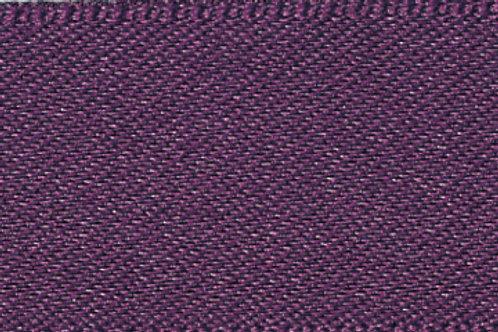 Ribbon Double Satin - 10mm Blackberry