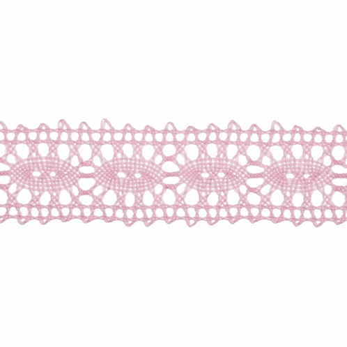 Lace: Polycotton: Pale Pink