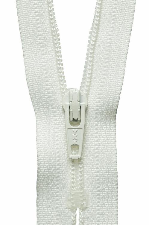 Nylon Dress and Skirt Zip: 36cm: Cream