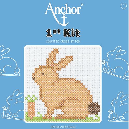 Cross Stitch - Anchor 1st Kit - Rabbit