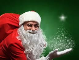 A Santa Spirit!