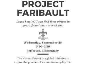 Virtues presentation at Community School