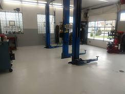 Automotive Epoxy Flooring