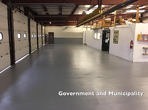 Epoxy Flooring, Industrial Floor System, Buffalo, NY