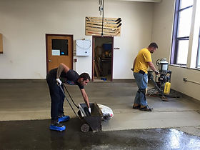 Working on Flooring, Industrial Floor System, Buffalo, NY