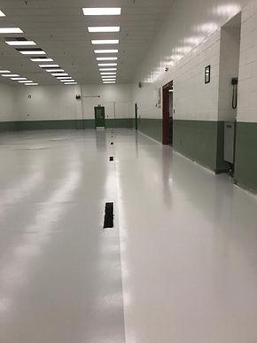 Seamless Manufacturing Flooring