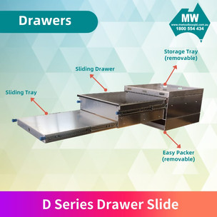 D Series drawer slide